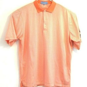 Fairway and Greene Performance Polo Shirt Orange